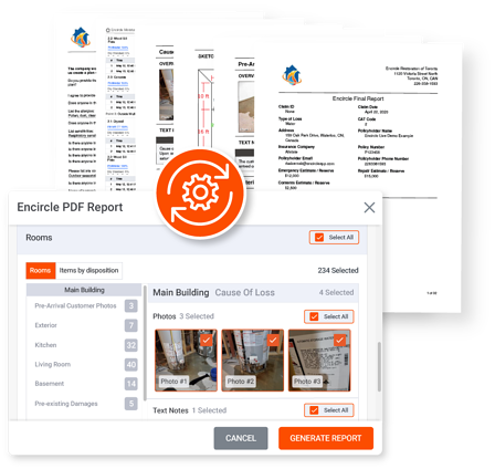 Generates Automated Reports with Encircle in Minutes