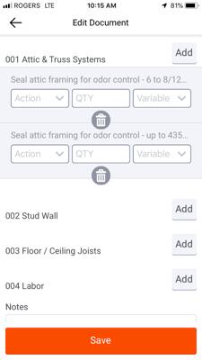 Rebuild scoping screenshot